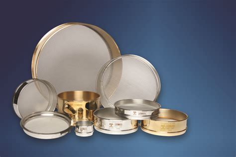 Test Sieves for laboratory Particle Size Analysis | Laval Lab