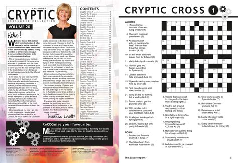 Christine's Cryptic Crossword Collection Magazine By Lovatts