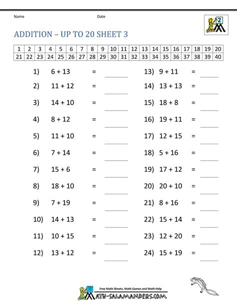 worksheet addition facts sheet grass fedjp worksheet