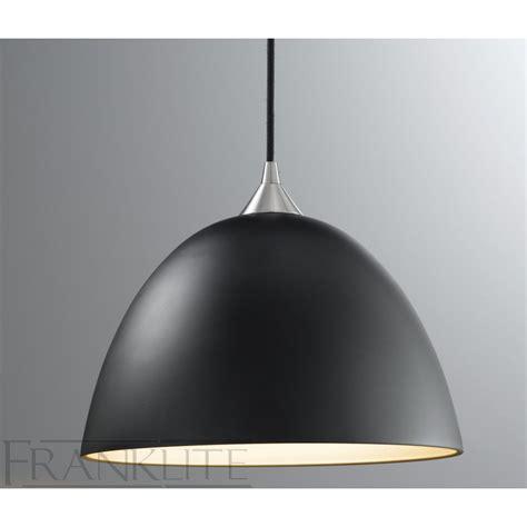 franklite fl2290 1 931 black glass single pendant light