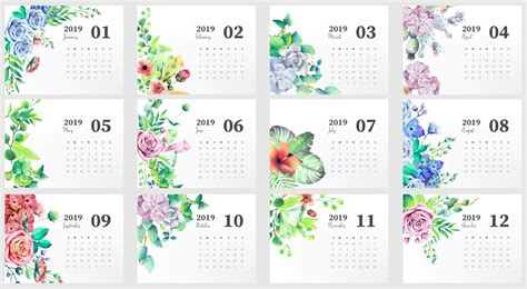 cute  monthly calendar calendar