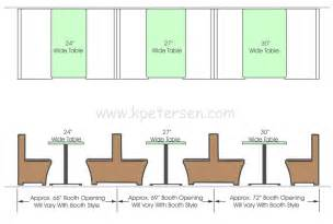 Table Banquette Size by Dining Table Restaurant Dining Table Dimensions