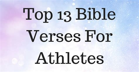 top  bible verses  athletes christianquotesinfo