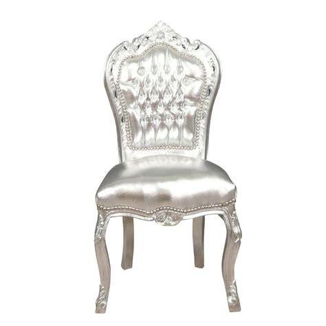chaise baroque pas cher chaise baroque argentée chaises baroque pas cher