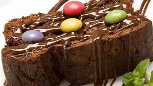 Brownie de chocolate Presentación
