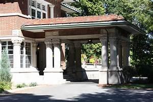 building language porte cochere historic indianapolis With porte porte