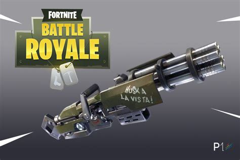 fortnite   update adds  minigun weapon