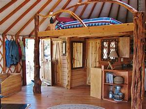 Yurt Interiors - Pacific Yurts