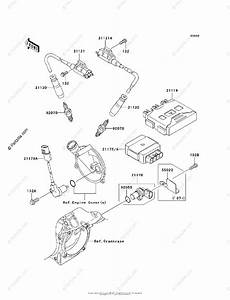 Kawasaki Atv 2006 Oem Parts Diagram For Ignition System