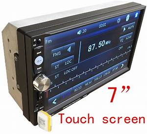 Free Shipping 2din Car Dvd    Mp3    Mp5    Usb    Sd    Player
