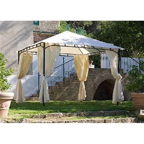 gazebo con tende gazebo rodi 3x3 con tende mondobrico arredo giardino
