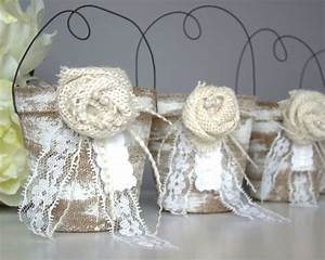 rustic wedding favor bag container country vintage With rustic wedding party favors