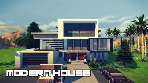 modern house design  sims  youtube