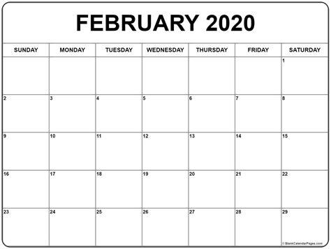 february calendar template creative calendar ideas