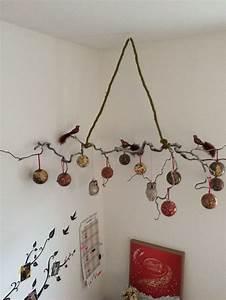 Deko Ast Zum Aufhängen : geschm ckter zweig advent weihnachten h ngende ~ Michelbontemps.com Haus und Dekorationen
