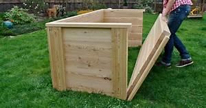 Komposter Holz Selber Bauen : hochbeet aus holz bauen bn54 hitoiro ~ Articles-book.com Haus und Dekorationen