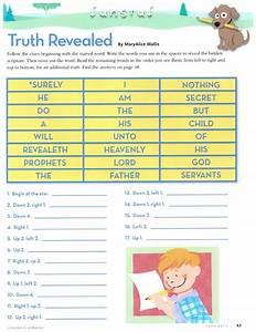 Primary 5 Manual Lesson 15  U0026quot The Prophet Receives