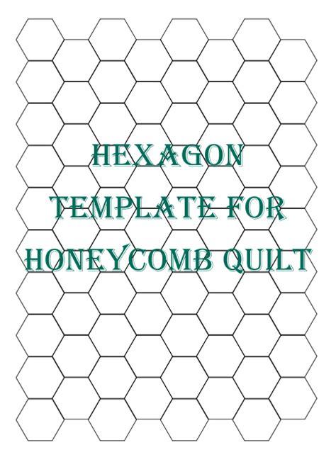 hexagon quilt template maryjanesfarm recipes patterns