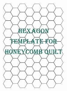 hexagon patchwork on pinterest hexagon quilt hexagons With quilting hexagon templates free