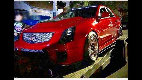 Hellcat Vs Ctsv by Dodge Hellcat Vs Cadillac Cts V 1 300 Race