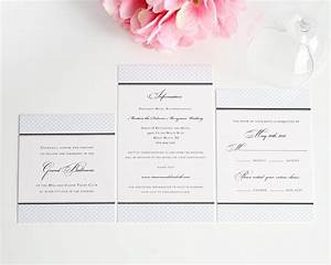 elegance monogram wedding invitations wedding With wedding invitation pocket enclosures