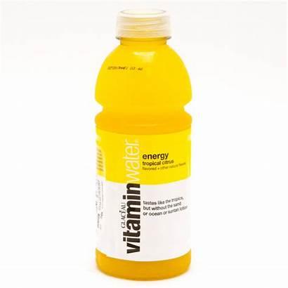 Vitamin Water Energy Citrus Bottle Tropical 20oz