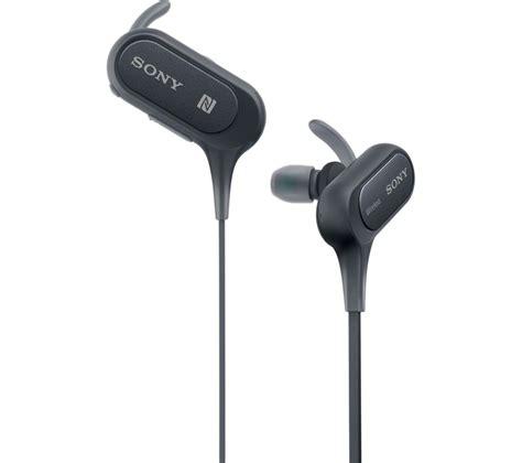 sony wireless headset buy sony mdr xb50bs wireless bluetooth headphones black