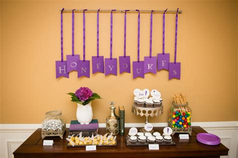 the ultimate harry potter bridal shower details decorations capitol practical