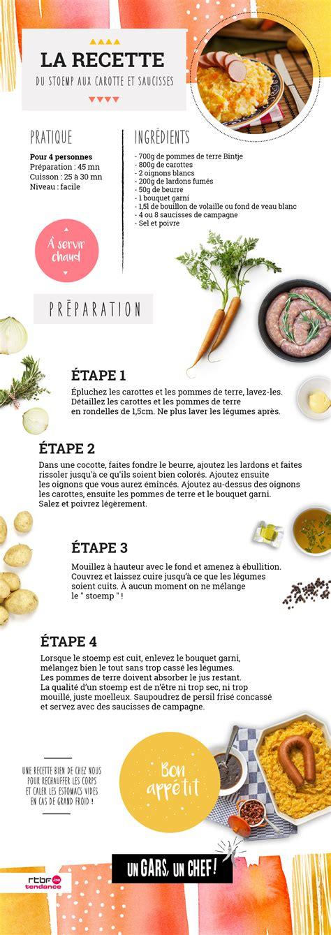 recette cuisine chef recette le stoemp aux carottes saucisses et oeufs d 39 un