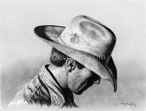 Cowboy Pencil Drawings