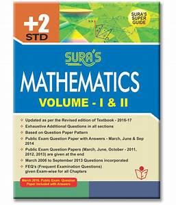 12th Standard Guide Mathematics English Medium Volume I