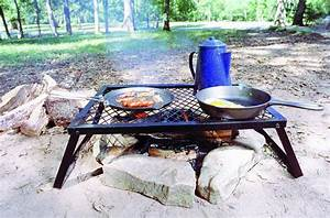 Outdoor, Cooking, Grate, Campfire, Grill, Portable, Bbq, Camping