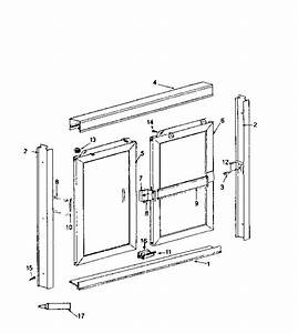Sears Tub Door Parts