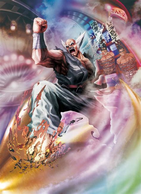 Heihachi Street Fighter X Tekken Wiki Fandom Powered