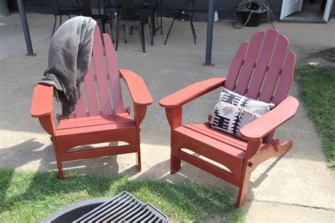 a quot pop quot of painted adirondack chairs