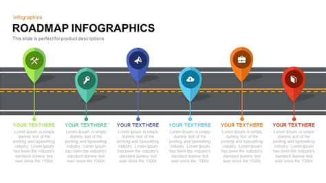 roadmap template ppt roadmap infographics powerpoint and keynote template slidebazaar