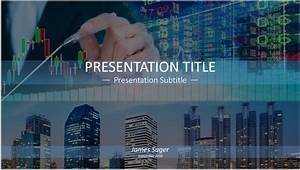 Free stock market powerpoint template 6448 sagefox for Stock market ppt templates free download