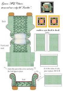Printable Paper Doll Furniture