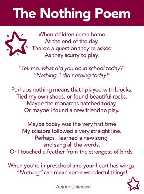 the nothing poem a poem about preschool montessori 933   56f0facaa308b2312c1470d1f90f9e7c