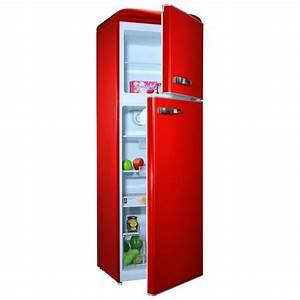 Refregirateur Pas Cher : refrigerateur congelateur couleur rouge achat vente ~ Premium-room.com Idées de Décoration