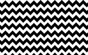 Black White Chevron Wallpaper