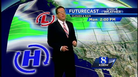 Watch Your Local Evening Forecast On Ksbw 04.21.17