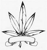 Weed Coloring Leaf Pot Awesome Adult Birijus Drugs Smoke sketch template