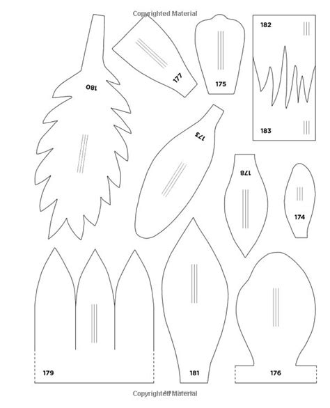 martha stewart leaf template 638 best images about flores on leaf template paper flowers and paper flower templates