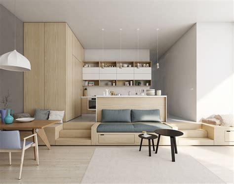 kitchen island instead of table open plan interior design inspiration