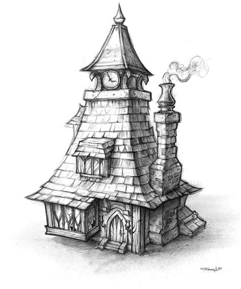 house sketch ideas  pinterest house drawing