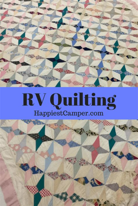 rv quilting happiest camper