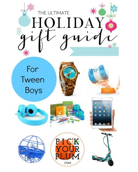holiday gift guide for tween boys
