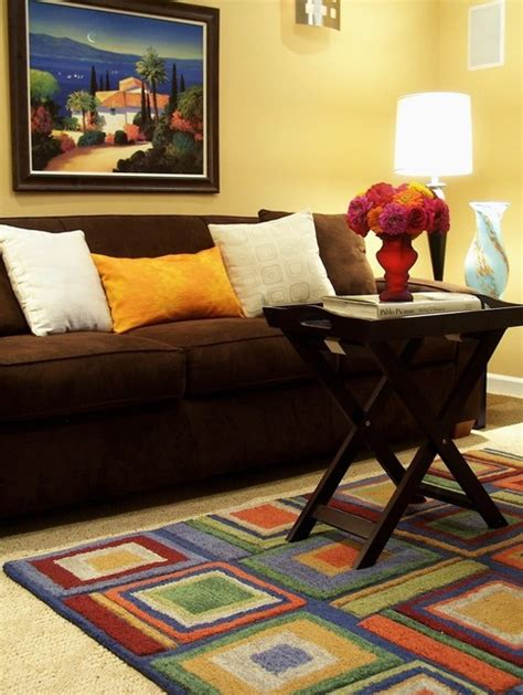 classic brown sofas     combination