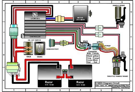 49cc Mini Chopper Wiring Schematic by Razor Mini Chopper Wiring Diagram Wiring Diagram And